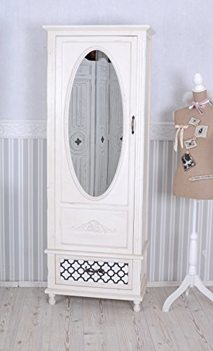 kleiderschrank shabby chic design. Black Bedroom Furniture Sets. Home Design Ideas