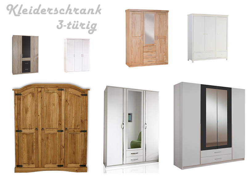 kleiderschrank 3 t rig g nstig. Black Bedroom Furniture Sets. Home Design Ideas