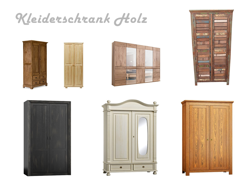 robuster kleiderschrank aus holz. Black Bedroom Furniture Sets. Home Design Ideas